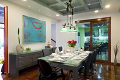 House for sale Na Jomtien Pattaya showing the dining area