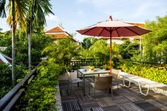 House for sale Na Jomtien Pattaya showing the guest room terrace