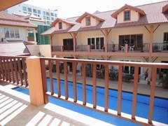 House for sale Pratumnak Hill Pattaya showing the balcony view