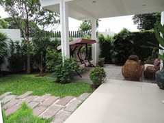 House for Sale Silverlake Pattaya showing the entrance terrace