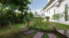 House for Sale Silverlake Pattaya showing the garden