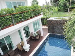 House for Sale Silverlake Pattaya showing the private swimming pool