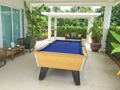 House for Sale Silverlake Pattaya showing the rooftop terrace entertainment area