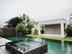 House for sale The Vineyard Pattaya showing the jacuzzi pool and sala