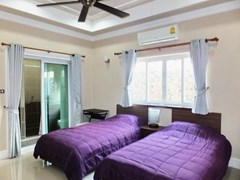 House for sale Nongpalai Pattaya showing the second bedroom suite