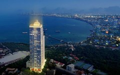 Penthouse Condominium for sale Pratumnak Pattaya showing the condominium