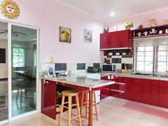 Resort for sale Huay Yai Pattaya showing the kitchen