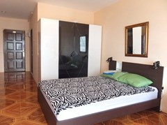 Condominium for rent Jomtien Pattaya showing the sleeping area