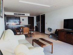 Condominium for rent Northshore Pattaya showing the open plan concept