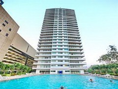 Condominium for rent Pattaya View Talay 6 showing the condo building