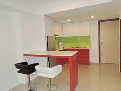 Condominium for rent East Pattaya showing the breakfast bar