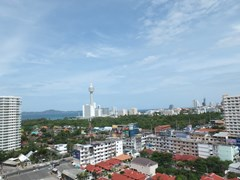 Condominium for rent Jomtien showing the balcony