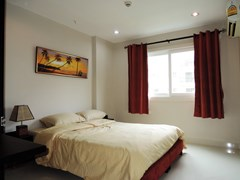 Condominium for rent Jomtien Park Lane showing the bedroom
