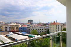 Condominium For Rent Pattaya showing the balcony view