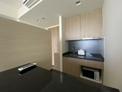 Condominium for rent UNIXX South Pattaya showing the dining and kitchen areas