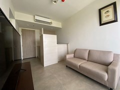 Condominium for rent UNIXX South Pattaya showing the living, dining and kitchen areas