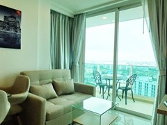 Condominium for rent Pattaya showing the balcony