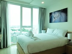 Condominium for rent Pattaya showing the bedroom