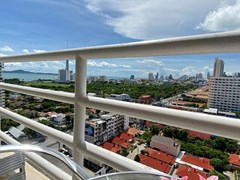 Condominium for Sale Jomtien showing the balcony and sea view