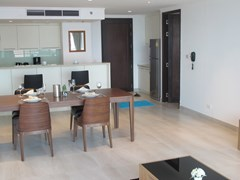 Condominium for sale Northshore Pattaya showing the dining and kitchen