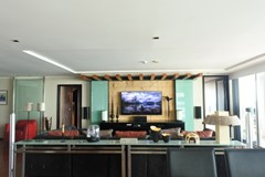 Condominium for sale Pattaya Northshore showing the living room
