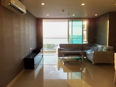 Condominium for sale Pratumnak Hill Pattaya showing the open plan living area