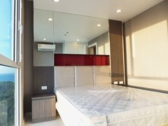 Condominium for sale Pratumnak Hill Pattaya showing the second bedroom with furniture