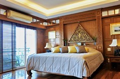 Condominium for sale Pratumnak Hill Pattaya showing the second bedroom and balcony