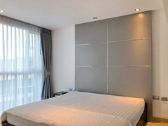 Condominium for sale Central Pattaya showing the bedroom furniture