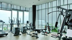 Condominium for sale Central Pattaya showing the gymnasium