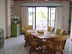 Condominium for sale in Jomtien at Chateau Dale showing the dining area