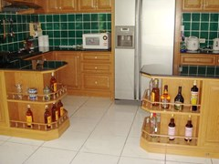 Condominium for sale in Jomtien at Chateau Dale showing the kitchen