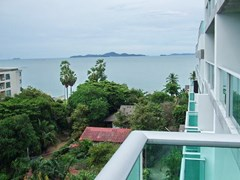Condominium for sale Naklua showing the balcony view