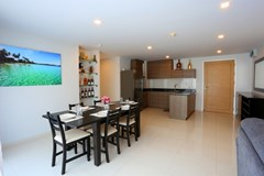 Condominium For Sale Pattaya showing the dining and kitchen areas