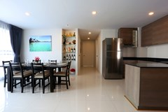 Condominium For Sale Pattaya showing the kitchen and dining areas