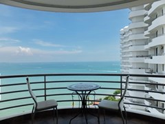 Condominium for Sale Pratumnak Hill showing the balcony north view