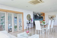 Condominium for sale Pratumnak Pattaya showing the dining area