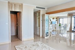 Condominium for sale Pratumnak Pattaya showing the view from the guest bedroom