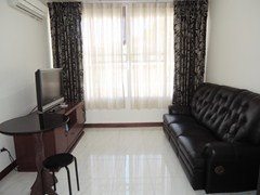 Condominium for rent Pratumnak Hill showing the living room