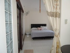 Condominium for rent Pratumnak Hill showing the sleeping area