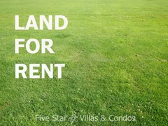 Development land for rent Jomtien Pattaya - Land - Jomtien - Jomtien 2nd Road