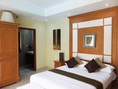 House for rent Jomtien at Jomtien Park Villas showing the second bedroom suite