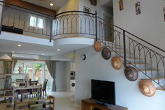 House for rent East Pattaya showing the second living room