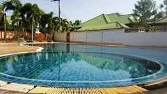 House for sale East Pattaya showing the communal pool