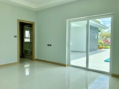 House for sale East Pattaya showing the second bedroom suite with walk-in wardrobes