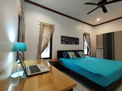 House for sale East Pattaya showing the third bedroom with office area