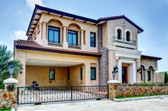House for sale Na Jomtien Pattaya showing the house frontage