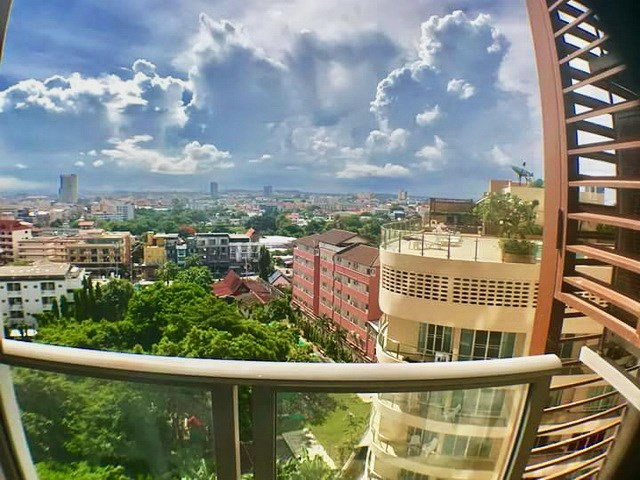 Condominium for sale UNIXX South Pattaya showing the balcony view