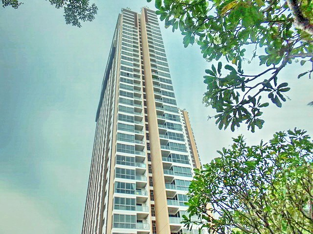Condominium for sale UNIXX South Pattaya showing the building