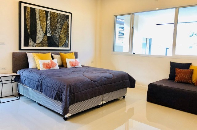 House for rent Huay Yai Pattaya showing the third bedroom
